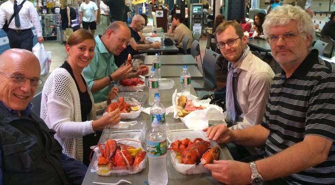 The Lobster: Das Ritual nach einer AOM-Präsentation